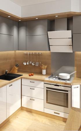Kuchyně 3D interiéry Čtvrtek
