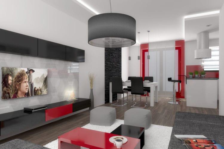 Jihlava obývací pokoj