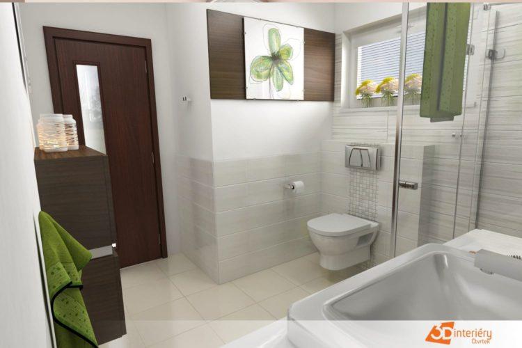 Návrh obkladů do koupelny