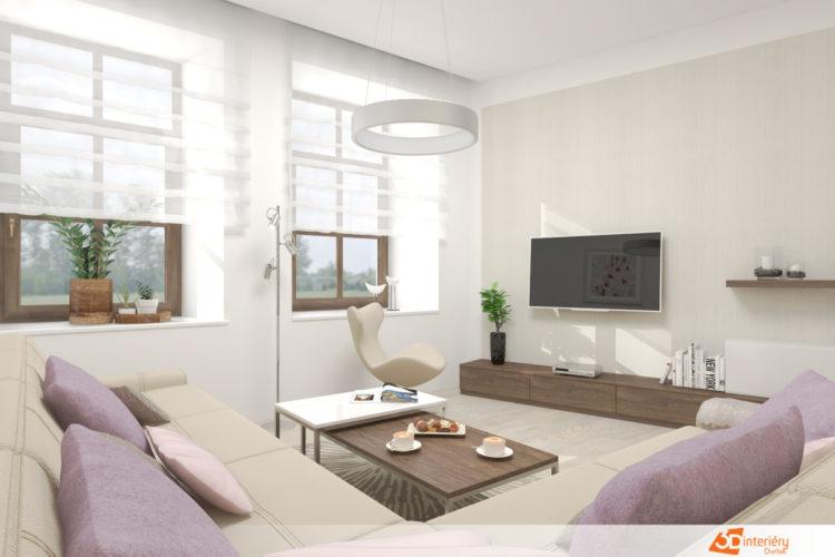 Návrh obývacího pokoje Ostrava