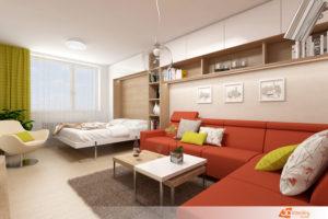 Návrhy Obývacích Pokojů Návrhy Interiérů Interierstudio3dcz