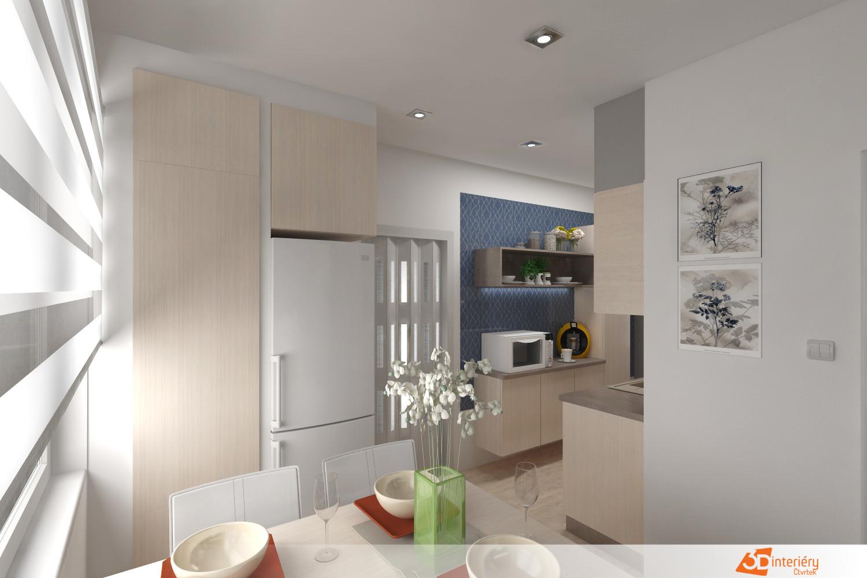 0ba754b96dbe Rekonstrukce kuchyně v paneláku - Návrhy interiérů