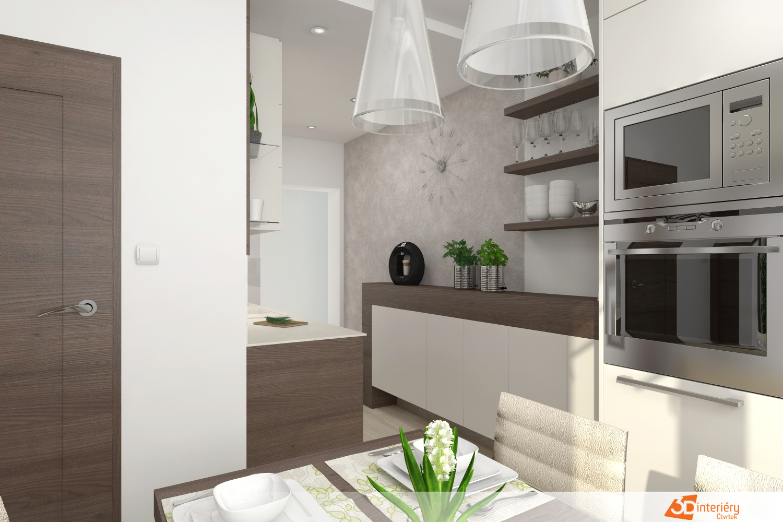 c42fc986f787 Přestavba panelákového bytu 3+1 - Návrhy interiérů