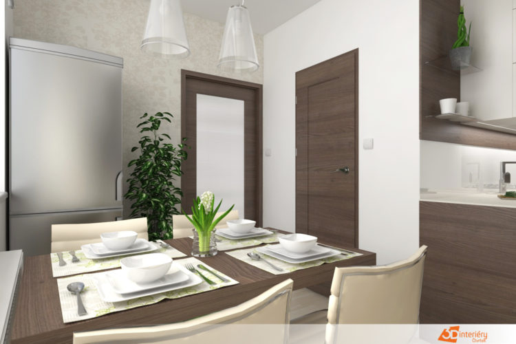 Přestavba panelákového bytu 3+1