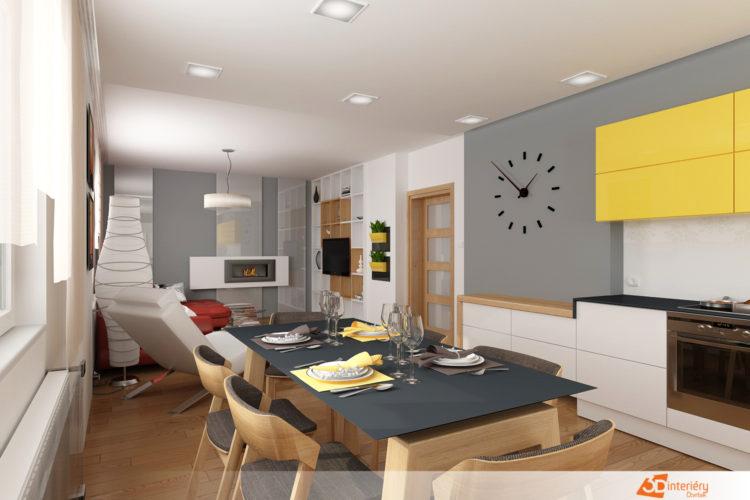 Interiér obýváku