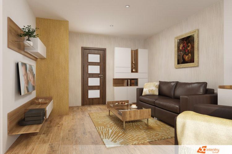Online návrh obývacího pokoje