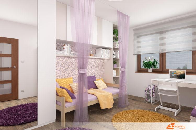Dětský pokoj v novostavbě Havířov