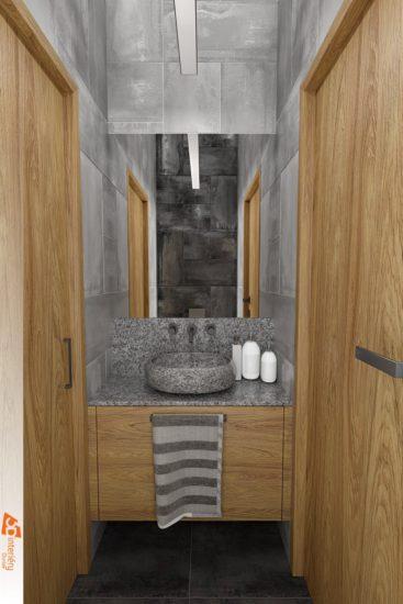 2 koupelny v rodinném domku