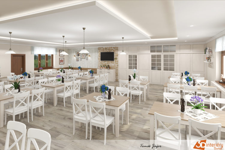 Restaurace ve 3D – Český Šternberk