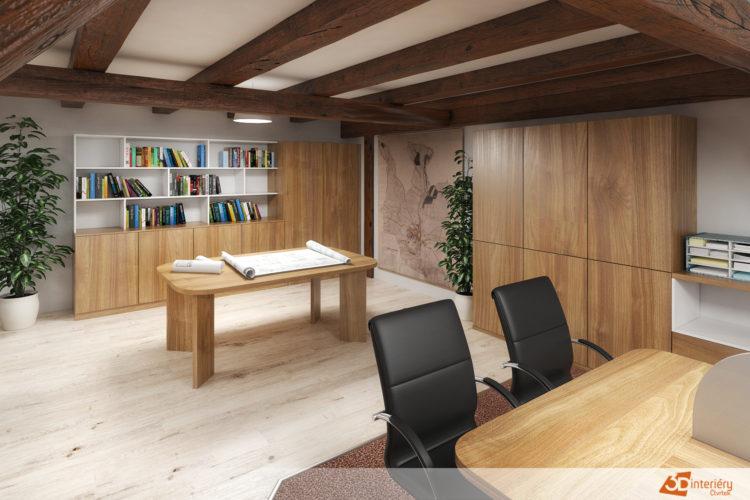 Kancelář městského úřadu Dačice