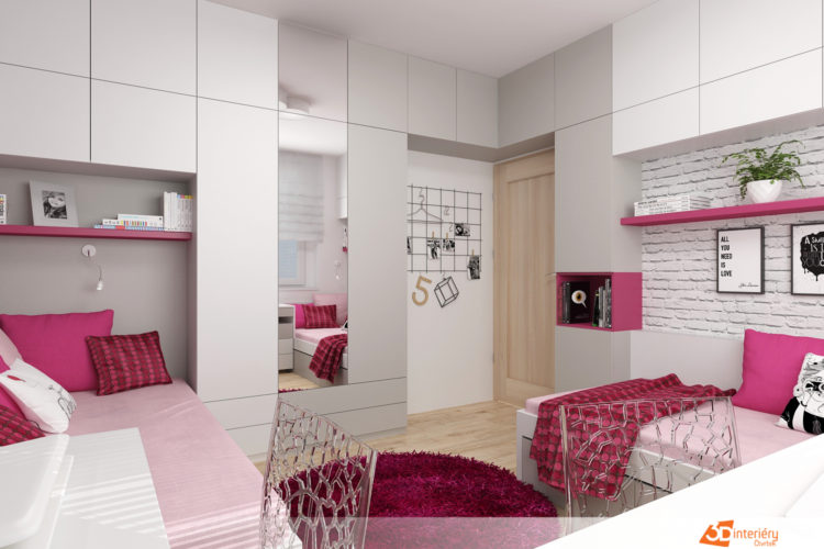 Studentský pokoj byt 2+1 Praha