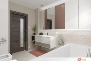 Návrh koupelny Praha 4